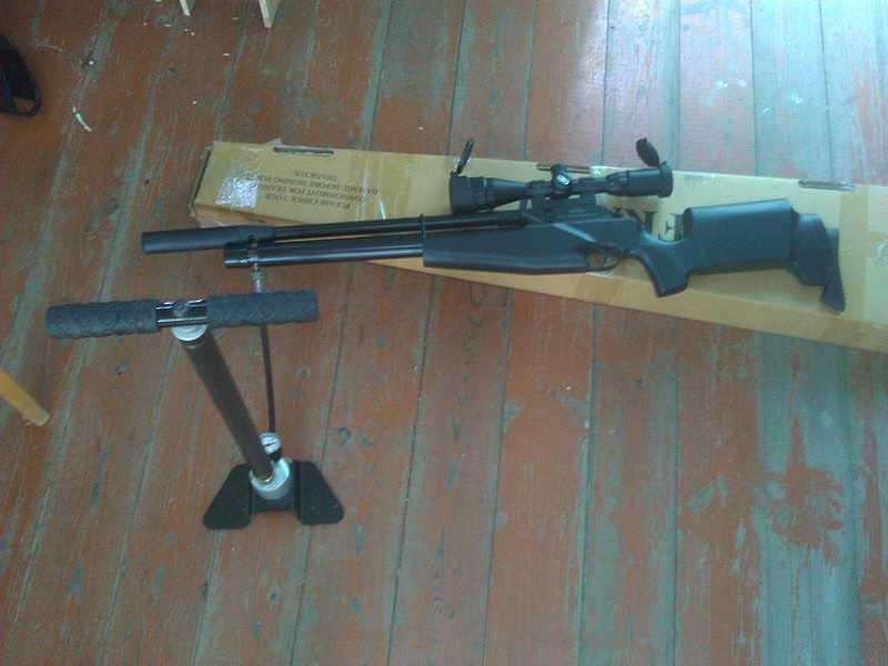 7)Муки выбора пневматической винтовки