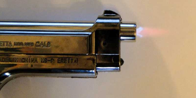 4)Beretta lighter - обзор