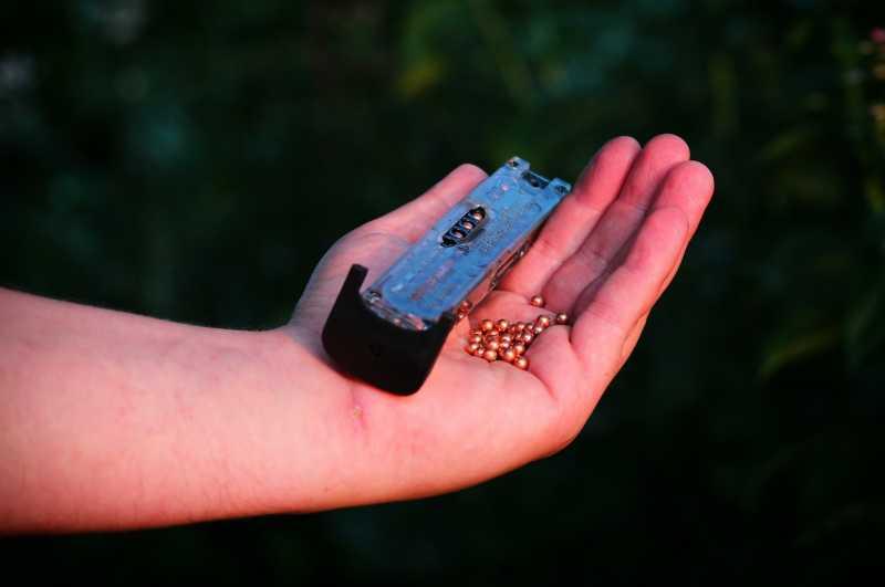 1)Развеивание мифа о долгом заряжании магазина к пневматическому пистолету Скиф,от Родомира.