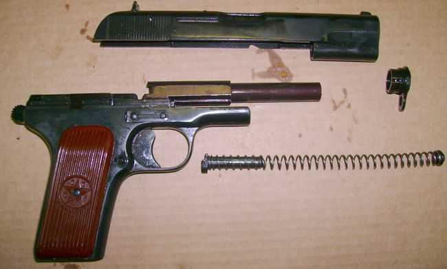 2)травматический пистолет ТТ