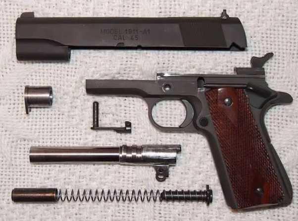 5)Пневматический пистолет Swiss Arms P1911
