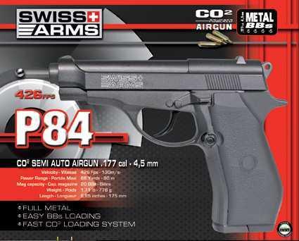 1)Swiss Arms P84