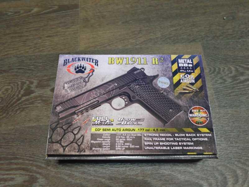 1)Swiss Arms BW1911 R2
