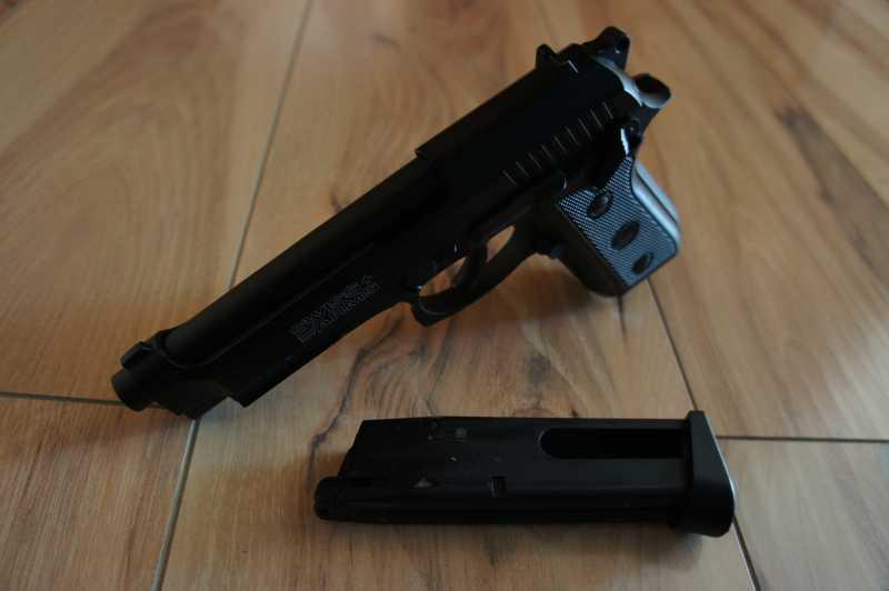 6)Обзор пневматического пистолета
