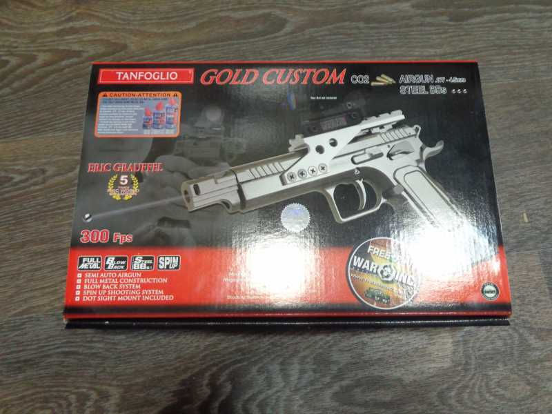 1)Обзор Swiss Arms Tanfoglio Gold Custom
