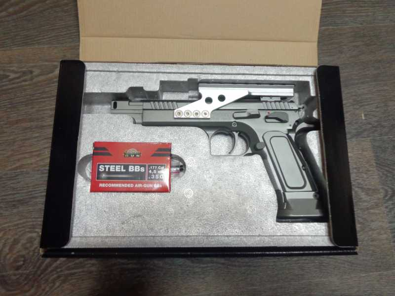 2)Обзор Swiss Arms Tanfoglio Gold Custom
