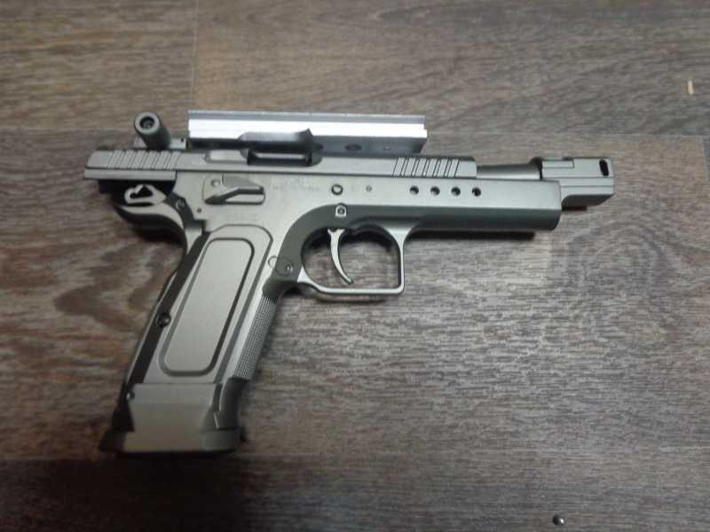 5)Обзор Swiss Arms Tanfoglio Gold Custom