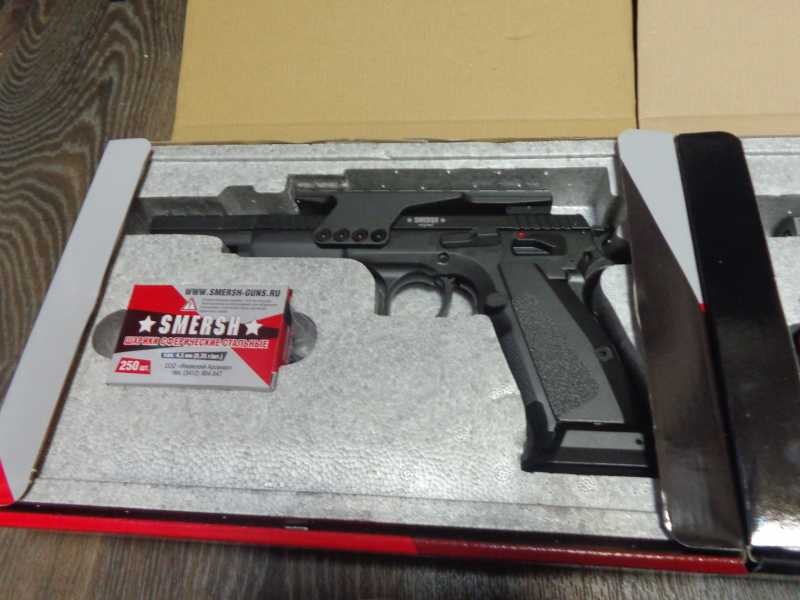 37)Обзор Swiss Arms Tanfoglio Gold Custom