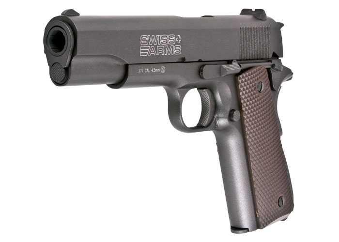 11)Пневматический пистолет Swiss Arms P1911