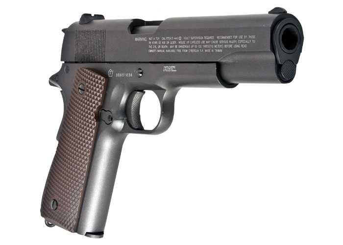 12)Пневматический пистолет Swiss Arms P1911