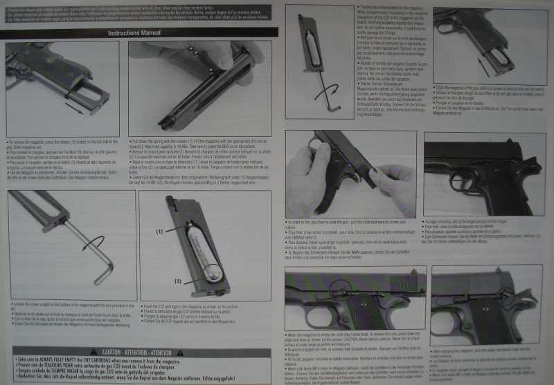 9)Пневматический пистолет Swiss Arms P1911