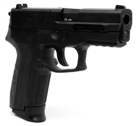 2)Пистолет  SIG SP2022 Black от компании Swiss Arms