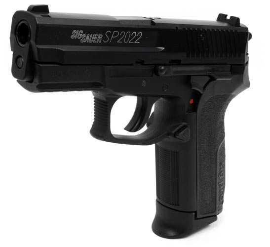 3)Пистолет  SIG SP2022 Black от компании Swiss Arms