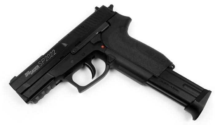 5)Пистолет  SIG SP2022 Black от компании Swiss Arms