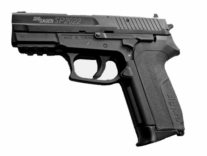 6)Пистолет  SIG SP2022 Black от компании Swiss Arms