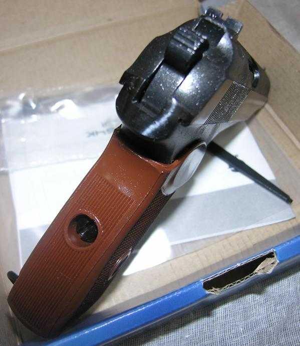 37)Разновидности пистолета МР-654к