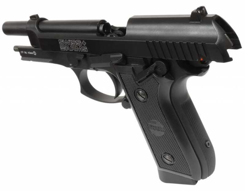 3)Пневматический пистолет Swiss Arms P 92