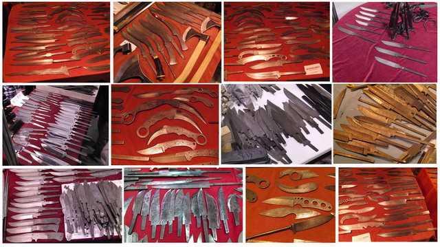 Полосы ножей