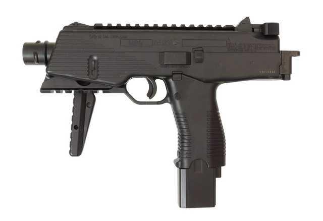 Внешний вид нового пневматического пистолета пулемета GAMO MP-9 Blowback pistol