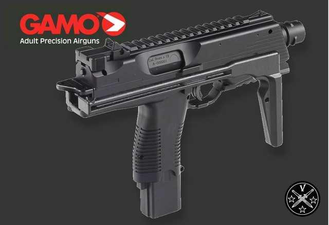 Пневматический пистолет-пулемет Gamo