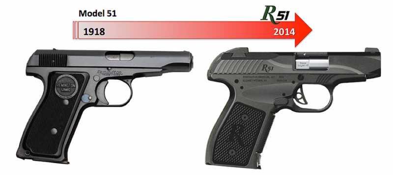 1)Новый R51 от Remington