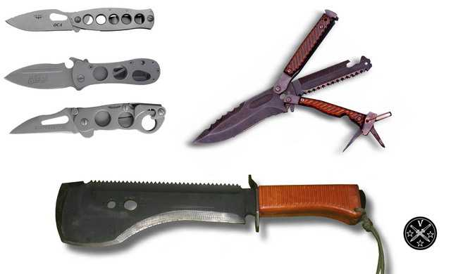 Известные ножи И. Скрылева