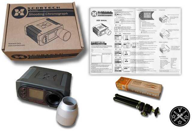 Комплект поставки XCORTECH X-3200