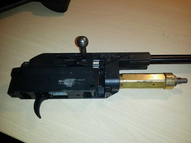 1)Установка Конверсионного набора 28 Дж на Walther 1250 Dominator и поднятие давления в его редукторе