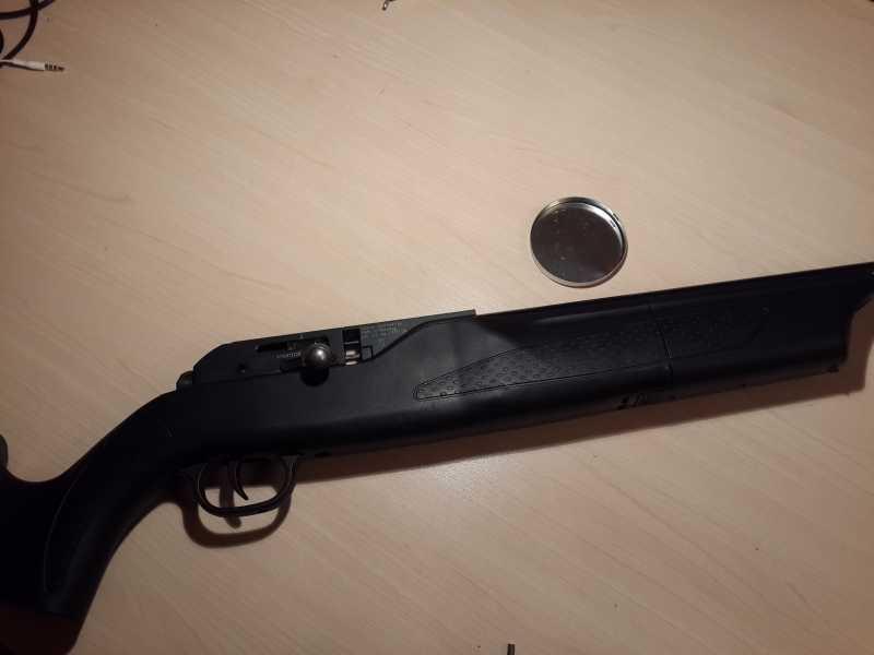 2)Установка Конверсионного набора 28 Дж на Walther 1250 Dominator и поднятие давления в его редукторе