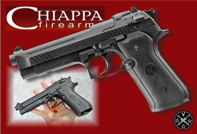 Новый пневматический пистолет  Chiappa AG-92