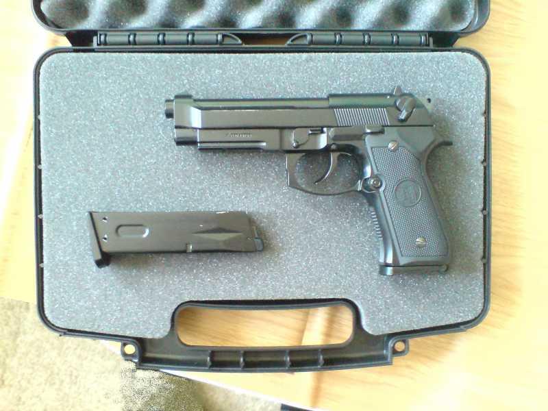 8)Пистолетные кейсы