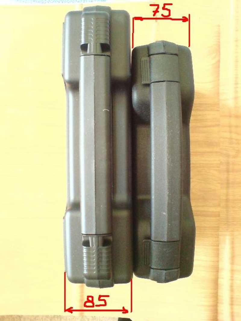10)Пистолетные кейсы