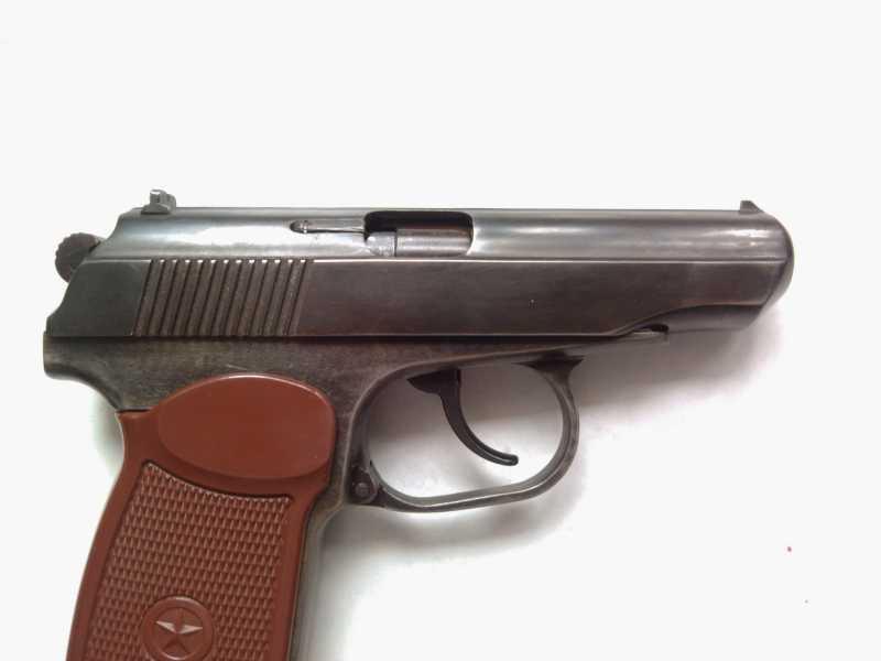 5)Внешний тюнинг пневматического пистолета МР-654К (МР-654К UPGRADE - external improvement)