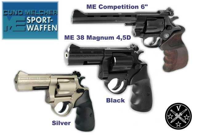 ME sport waffen airgun revolver