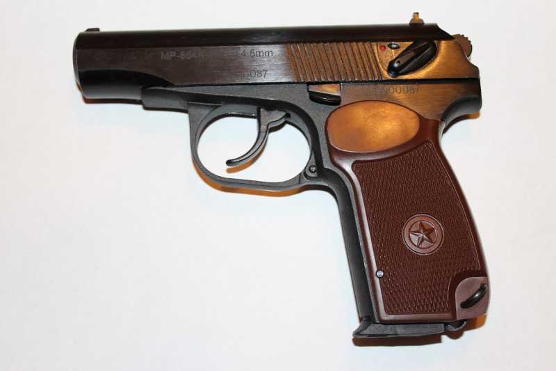 41)Разновидности пистолета МР-654к