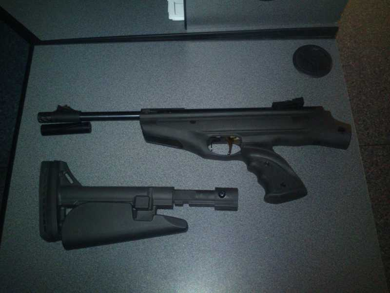 1)Hatsan MOD 25 Tactical