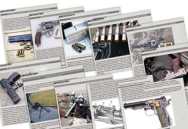 Материалы раздела Оружейная мастерская