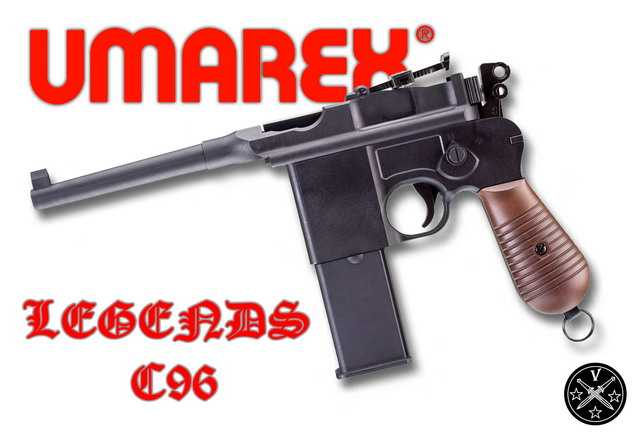 Umarex Lelends Mauser C96 BB CO2