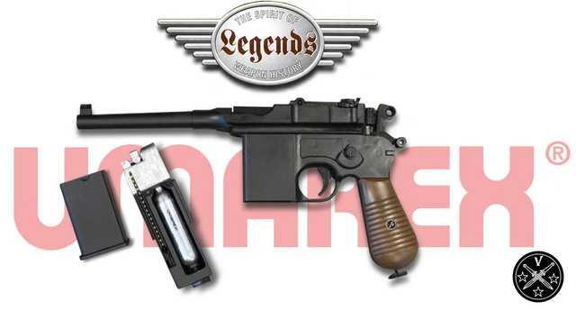 Airgun пистолет Маузер С96