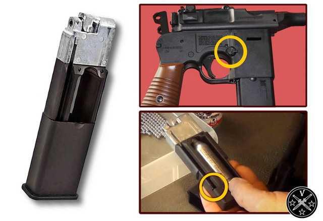 Полноразмерный магазин airgun С96