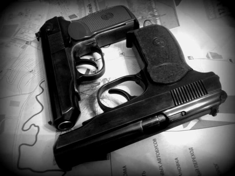 12)Внешний тюнинг пневматического пистолета МР-654К (МР-654К UPGRADE - external improvement)