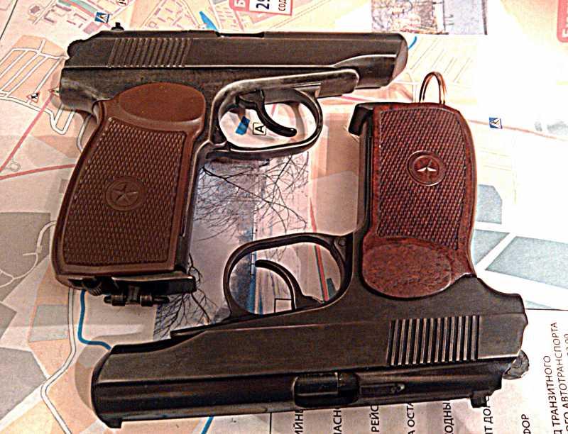 13)Внешний тюнинг пневматического пистолета МР-654К (МР-654К UPGRADE - external improvement)