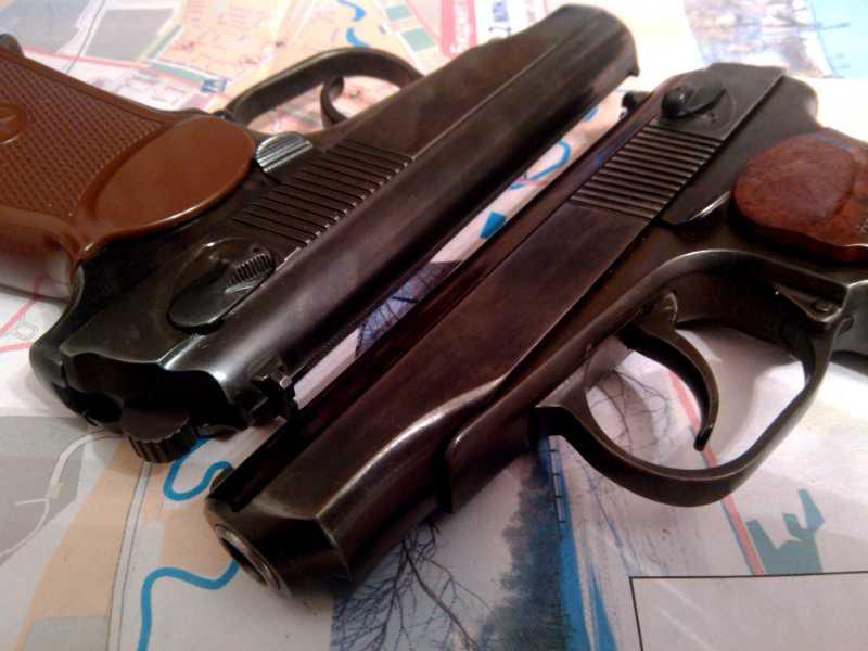 10)Внешний тюнинг пневматического пистолета МР-654К (МР-654К UPGRADE - external improvement)