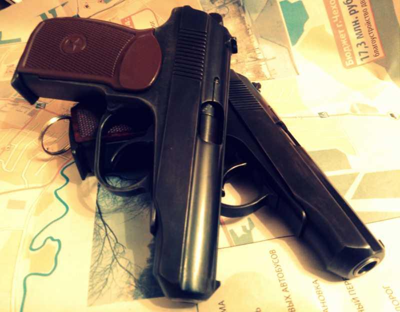 11)Внешний тюнинг пневматического пистолета МР-654К (МР-654К UPGRADE - external improvement)