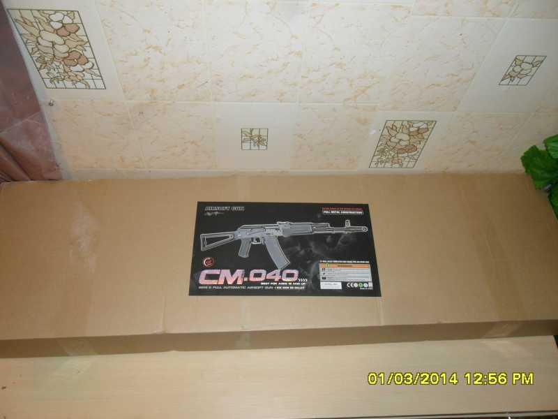 1)знакомство CM040 AKS-74M