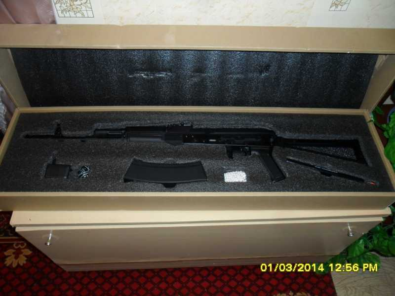 2)знакомство CM040 AKS-74M
