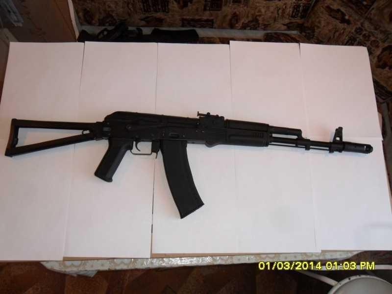 3)знакомство CM040 AKS-74M
