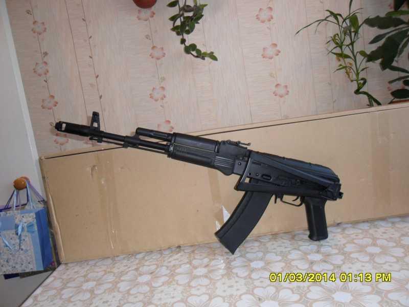 13)знакомство CM040 AKS-74M