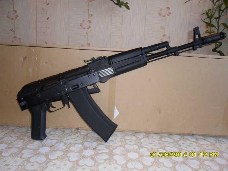14)знакомство CM040 AKS-74M