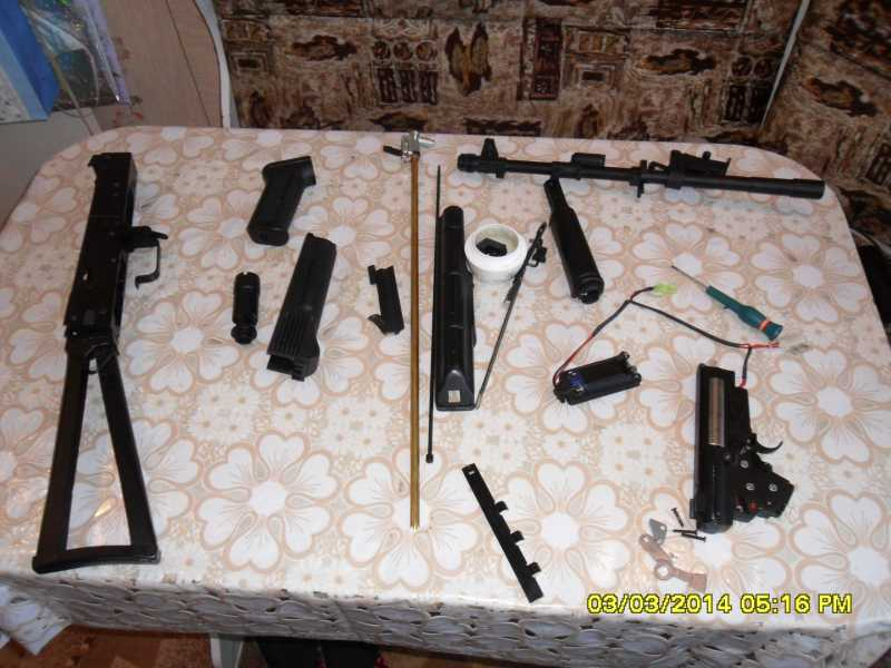 11)знакомство CM040 AKS-74M